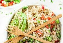 Healthy Recipes / The best quinoa recipes on Pinterst and the web! Do you love quinoa as much as I do?
