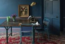 FEELING BLUE? / INSPIRED BY FARROW&BALL STIFFKEY BLUE MOOD/ INSPIRATIONAL IMAGES