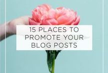 Blogging Tips / Tips for starting, running, maintaining a blog and everything that comes along with it.