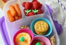 Make Your Child's Lunchbox Awesome! #LunchingAwesome / Tired of packing boring lunchboxes?  It's time get you kids #LunchingAwesome! Check out these easy school lunch ideas that will make lunch your kiddos favorite meal of the day! #sponsored / by Jeannette from J-Man and MillerBug