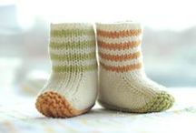 Knitting patterns - Booties