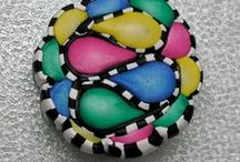 Polymer Clay Canes and Beads