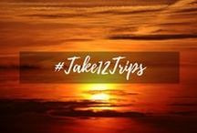 The #Take12Trips Challenge / Adventures around the world and web from the challenge to #take12trips in 12 months. If you're taking part - email me: holidayaddict23@gmail.com and I'll add you to our board!