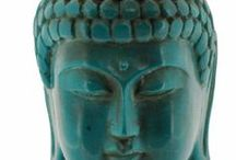 Buddha @ Home or Office / Beautiful Buddha Energy  Decor for Home, Office or Garden from KnowFengShui.com http://bit.ly/1mmB1RO / by Rodika Tchi | Feng Shui