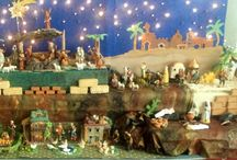 NATIVIDAD Y VILLAS DE NAVIDAD./ NATIVITY AND CHRISTMAS VILLAGE. / by Elvia Padilla