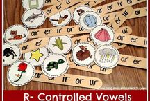 Bossy R / R controlled vowels