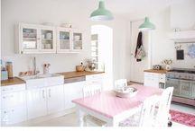 Shapp chic, vintage kitchen