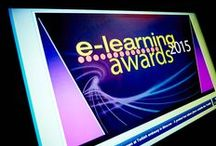 E-Learning Awards 2015 / Rewarding excellence in Learning Technologies worldwide. 25 November 2015 hosted by Deborah Frances-White and Phill Jupitus