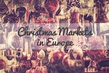 Best European Christmas Markets / Guides to Europe's Christmas Markets from the best travel blogs.