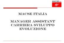 3° Congresso Nazionale di MACSE Italia  / 3° Congresso Nazionale di MACSE Italia - Milano 29 settembre 2012 - Hotel Milano Scala