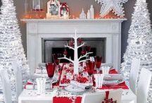 Christmas Table Ideas / Christmas Table Ideas