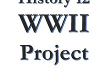 "HIS12 WWII project / A spot for Mr. Thiessen's History 12 class: WWII project. Choose a ""person"" from the time period and regions involved in the war and research how they were impacted by the event. Find and Pin 10 sources – both primary and secondary – that illustrate how the war impacted this person. This could include newspaper articles, maps, photos, diaries, letters, etc. They should cover the entire wartime period which means including postings from throughout the war."