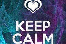 KEEP CALM and ..........