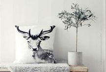 ○• Scandinavisch wonen / Met landelijke twist. Hout, lichte kleuren, grafische prints, pastelkleuren, design inspiratie, interieur, muurkleur