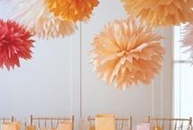 Opulent in Orange / Orange plastic bags, Orange paper bags, orange paper crafts, orange deocrations, orange flowers, everything we love that is orange.  www.qispackaging.com.au