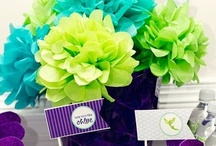 Tissue Paper Creations / Creative use of tissue paper. Tissue Paper decorations.
