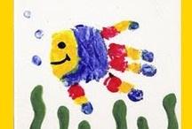 Craft - Handprint / Handprint craft with kids