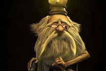 Mythical - Gnomes, Tolls, etc / by Kathy Cosgrove