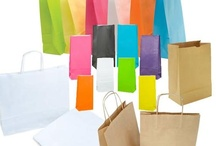 Our Shopping, Tote, Gift & Carry Bags / A collection of our colourful paper and plastic shopping, tote, gift and carry bags suitable for retail shopping supplies, parties, events and promotions.