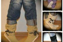 crochet boots summer / Summer boots handmade