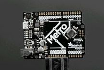 Arduino / Arduino is the popular open-source electronics prototyping platform based on easy-to-use hardware and software. It's intended for artists, designers, hobbyists, and anyone interested in creating interactive objects or environments and is designed to be as flexible as possible to fit your project's needs.  https://www.adafruit.com/category/17