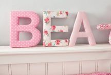 Girls Nursery Decor Ideas / Products, ideas, and inspiration to decorate a baby girl nursery or space. / by Fun Rooms For Kids