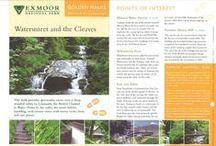 Golden Walks Series / Visit www.exmoor-nationalpark.gov.uk to find more information about Exmoor National Park