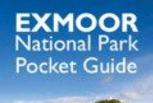 Exmoor National Park Pocket Guides / Follow the link from each pin to access a selection of guides to Exmoor National Park and its special qualities.