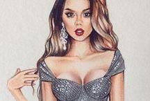 Fashion illustrations / Fashion illustration style
