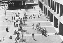 Campus Scenes / A collection of photos from our Digital Centennial Collection.   Photographs depicting the average day on campus throughout Kent State's history. / by Special Collections and Archives