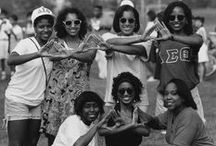 Fraternities & Sororities / Photographs depicting the brothers and sisters of the various Greek organizations on campus. Photographs taken from our Centennial Collection. / by Special Collections and Archives