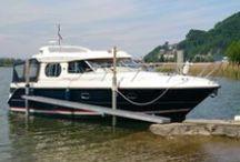 Gebraucht Boote Caminadawerft / Liste von Occasions Booten Schweiz, List of used motorboats in Switzerland