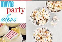 The Party Board / Ideas for parties,sleepovers,picnics,movie nights and more...