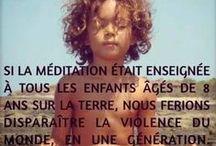 mindfulness pour les enfants / pleine conscience, respiration, méditation, instant présent, relaxation, douceur de vivre