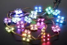 Adafruit Holiday Gift Guide 2015: LEDs (strips, kits, individual) / We've had a heck of an LED filled year here at Adafruit! We've acquired some incredible new products, some of which are featured below alongside a selection of our seasoned favorites. Check our gift guide and let there be LED light this holiday season!