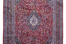 H. Persian rugs / blue and red