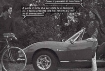 """Cars from FOTOROMANZI / Cars from Fotoromanzi is a just born collection of cars used in the making of """"fotoromanzi""""."""