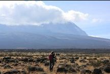 Kilimanjaro Western Approach / A 9 day, scenic, yet challenging trek with two daytime summit bids and 98% summit success. Journey through lush rainforests, trek across barren deserts, and conquer icy glaciers. This challenging climb is filled with spectacular views and picturesque scenery.