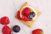 Fresh Berry Goodness / From breakfast to dessert, sweet to spicy, these mixed berry recipes offer flavor in every bite. That's where we took it. Where you take it is entirely up to you. Triscuit. Made for More.