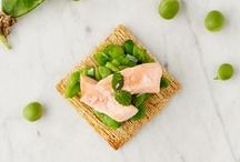 Peas Please / Sweet and tender, peas make a fresh addition to an array of recipes. Find inspiration using peas and Triscuit crackers in your next meal.