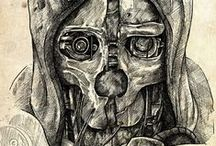 Dishonored pieces
