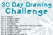 art inspiration: canvas, drawing & more