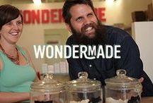 Wondermade + Triscuit / Wondermade's mission is as simple as their product. They're makers of really great marshmallows. Period. They create flavors ranging from blackberry to peanut butter cup to gold champagne and beyond. As one of our Makers of More, they inspire us to find the simplest way to make food delicious. That's what Triscuit is all about. / by Triscuit