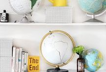 Living with maps / Maps in your home, or in your life