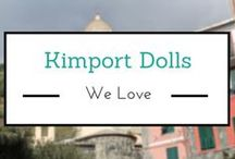 Kimport Dolls We Love / The golden age of collecting souvenir dolls, of the world being brought to doll lovers was made exciting through the Kimport and Kimcraft doll catalogues of the 1930s to the 1960s. Armchair doll collectors never had to leave home to discover the unique, high quality, hand-crafted dolls.