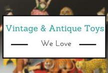 Vintage & Antique Toys We Love