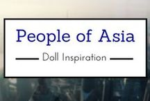 People of Asia-Doll Inspiration