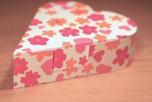 krabičky z papiru