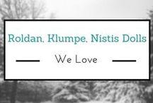 Roldan, Klumpe, Nistis Dolls We Love