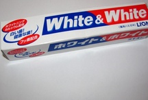 toothpaste from abroad / at first I took them home as a souvenir,  but now I'm getting them as a gift!